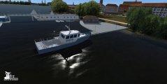 SimDocks.de Alster 3D Scenery Alster Polizeiwache