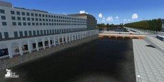 SimDocks.de Alster 3D Scenery Alsterarkaden.JPG